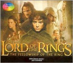 Lord of the Rings, The - Fellowship of the Rings 2003 Page-a-Day Calendar