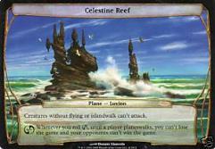 Celestine Reef (Zendikar Pre-Release) (Foil) (x4)