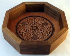 Celtic Dice Tray - 10""