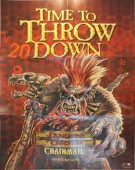 Chainmail Promo Poster - Time to Throw Down