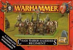 Chaos Warriors Halberdiers Regiment
