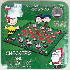 Checkers and Tic Tac Toe - Charlie Brown Christmas, A