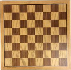 Chess - Wood Board w/Oak and Walnut