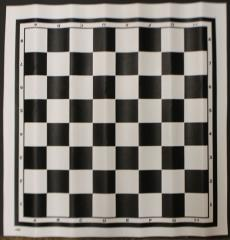 Chess Board Mat - Black