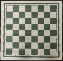 Chess Board Mat - Green