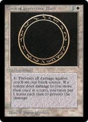 Circle of Protection - Black (German) (C)