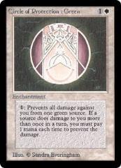 Circle of Protection: Green (German) (C)
