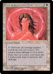 Circle of Protection - Red (German) (C)