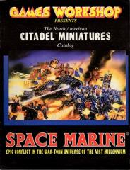Citadel Miniatures Catalog North American Warhammer 40,000 1993