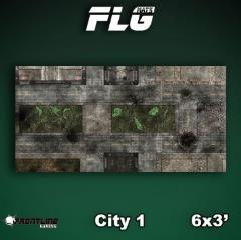 6' x 3' - City #1