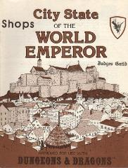 City State of the World Emperor - Shops Book
