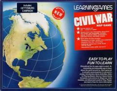 Civil War Map Game (Revised Edition)