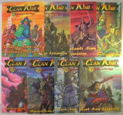 Clan War Army Expansion Book Collection - 8 Books!