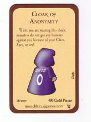 Munchkin - Cloak of Anonymity