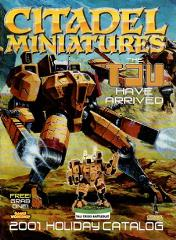 Citadel Miniatures 2001 Holiday Catalog