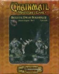 Skeletal Dwarf Soldier