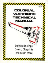 Colonial Warriors Technical Manual