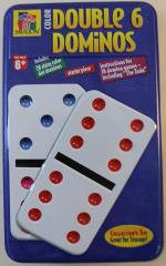 Color Double Six Dominoes