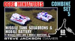 Combine Set #5 - Missile Tank Squadrons & Mobile Battery