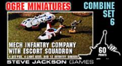 Combine Set #6 - Mech Infantry Company with Escort Squadron
