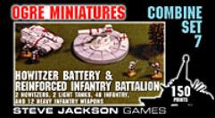 Combine Set #7 - Howitzer Battery & Reinforced Infantry Battalion