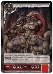 Commander of Wolves (R) (Foil)