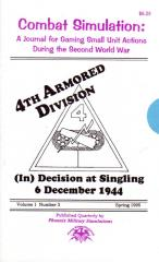 "Vol. 1, #3 ""(In)Decision at Singling December 6, 1944"