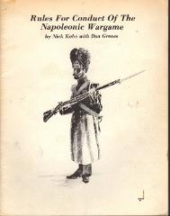 Rules for the Conduct of the Napoleonic Wargame