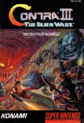 Contra III - The Alien Wars Instruction Manual