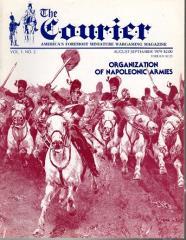 """Vol. 1, #2 """"Organization of Napoleonic Armies, Wargame Scenario Design"""""""