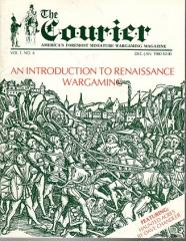 "Vol. 1, #4 ""An Introduction to Renaissance Wargaming"""
