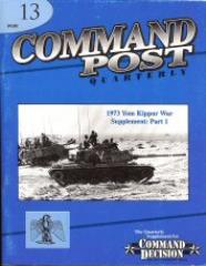 """#13 """"1973 Yom Kippur War Supplement Part 1"""""""