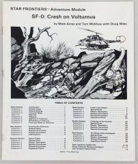Alpha Dawn - Crash on Volturnus