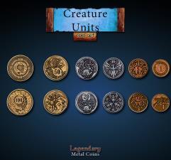 Creature Unit Coin Set