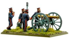 British Royal Artillery w/9-pdr Cannon