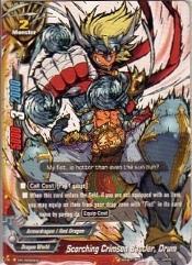 Promo Card - Scorching Crimson Battler, Drum