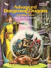AD&D Coloring Book - The Crown of Rulership