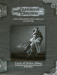 Curse of Gethin Abbey, The (2006 Worldwide Gameday)