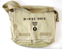 D-Day Dice - Messenger Bag