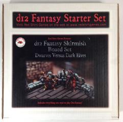 D12 Fantasy Starter Set - Dwarves vs. Dark Elves