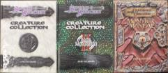 d20 Monster Manual Collection - 3 Books!
