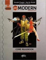 d20 Modern - Sample Chapter, Uncorrected Proof