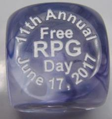 d6 2017 Free RPG Day Die