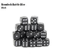 d6 Black w/White (35)