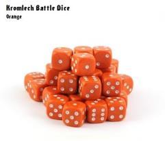 d6 Orange w/White (35)