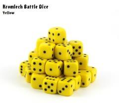 d6 Yellow w/Black (35)
