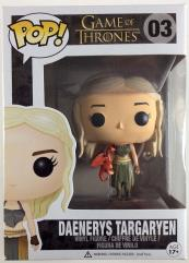 Daenerys Targaryen w/Red Dragon