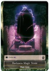 Darkness Magic Stone (C)