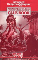 Dark Queen of Krynn Clue Book