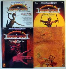 Dark Sun Sourcebook and Supplement Pack - 4 Books!